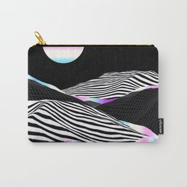 Stripes Mountains Carry-All Pouch