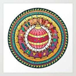 Christmas Ball - Magic Ball Art Print