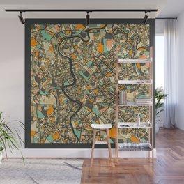ROME MAP Wall Mural