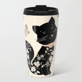 SophistiCat Metal Travel Mug