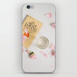 the art of loving iPhone Skin