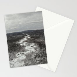 Frozen Adirondack River Stationery Cards