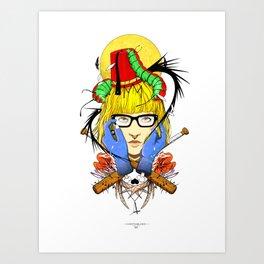 Switchblade Art Print