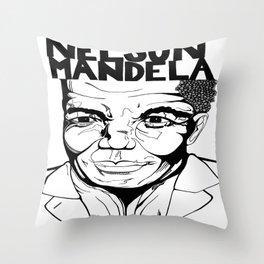 Remember Mandela Throw Pillow