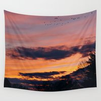 twilight Wall Tapestries featuring Twilight by Stephen Linhart