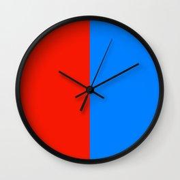 flag of Catania Wall Clock