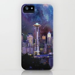 Spacey Seattle iPhone Case