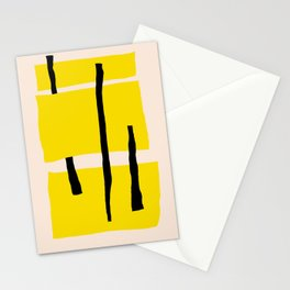 Yellow dream Stationery Cards