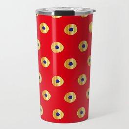 Traditional Japanese patter KANOKO Travel Mug