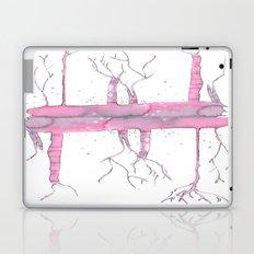 Pink trees Laptop & iPad Skin