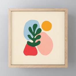 Wildlife | Cutouts by Henri Matisse Framed Mini Art Print