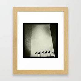 Flags  Framed Art Print