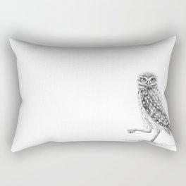 The Burrowing Owl Rectangular Pillow