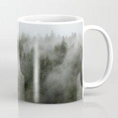 Pacific Northwest Foggy Forest Mug