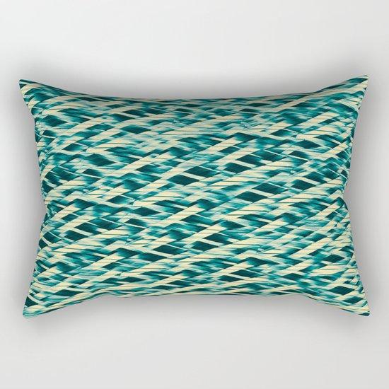 Random Stripe Rectangular Pillow