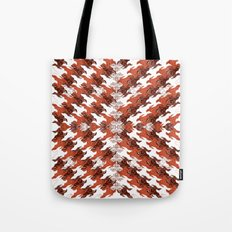 Eagles and Flowers and Eagles Tote Bag