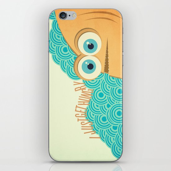 i just get hungry iPhone & iPod Skin