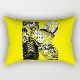 K – Punk Rectangular Pillow