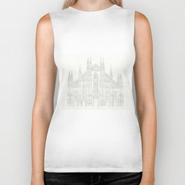 Cathedral of Milan Biker Tank