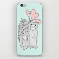 bears iPhone & iPod Skins featuring bears by s t i n g s