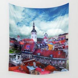 Tallinn art 3 #tallinn #city Wall Tapestry