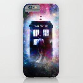 tardis nebula iPhone Case