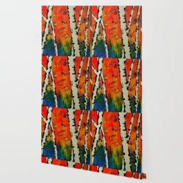 Birch Tree Stitch Wallpaper