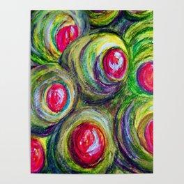 Olives in a Jar Poster
