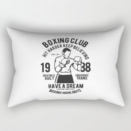 boxing club Rectangular Pillow