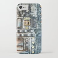 cityscape iPhone & iPod Cases featuring Cityscape by Maureen Mitchell