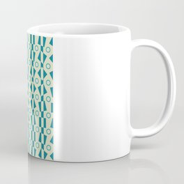 Synthia Modernist Circles Coffee Mug