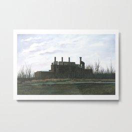 Burlington Swansong Metal Print