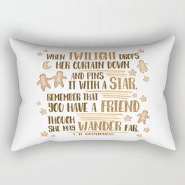 Gingerbread Friends Rectangular Pillow
