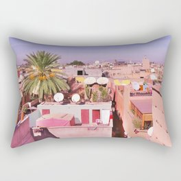 Marrakech Rooftop Rectangular Pillow