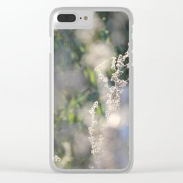 On The Sunny Side of Life Clear iPhone Case
