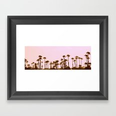 The Palm Trees Framed Art Print