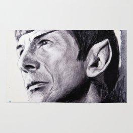 Goodbye Mr. Spock - Leonard Nimoy Rug