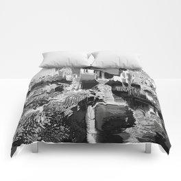 metal canal Comforters