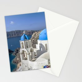 Santorini, Oia Village, Greece Stationery Cards