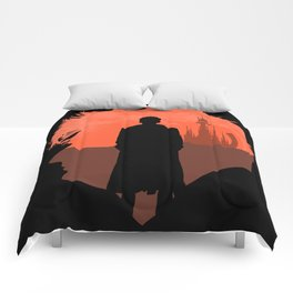 10th Doctor's world Comforters