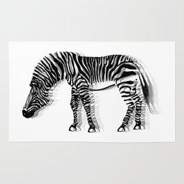 Dizzy Zebra Rug