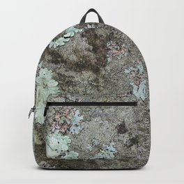 Lichen on granite Backpack