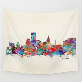 Providence Rhode Island Wall Tapestry