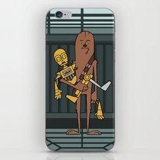 EP5 : Chewie & C3PO iPhone & iPod Skin