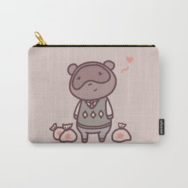 Raccoon Animal Villager | Illustration | Tom Carry-All Pouch