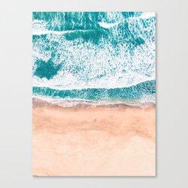 Faded ocean life Canvas Print
