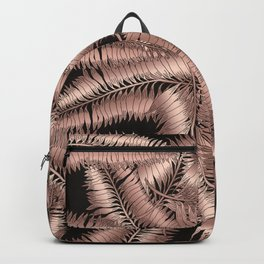 Bronzeaf #bronze #leaf #pattern Backpack