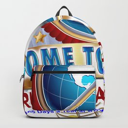 Come Together for Peace Backpack