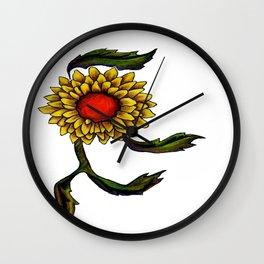 Dancing Flower Wall Clock