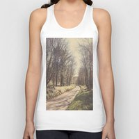 road Tank Tops featuring Road ∆ by Visceral Angst
